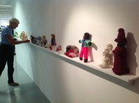 Knitted objects from the collections
