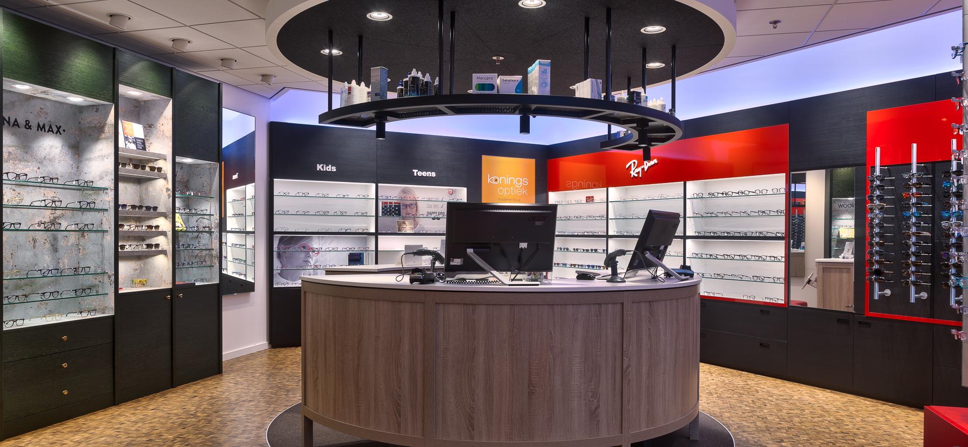 7518fc071135c8 Decoration Magasin Optique   Conception De Boutique D Opticien Pour ...