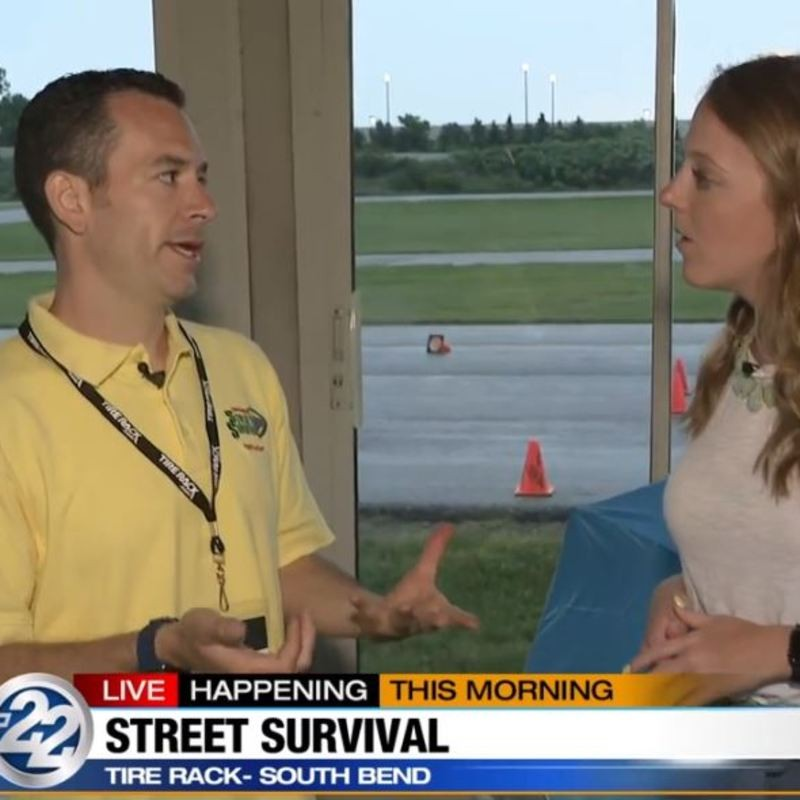 street survival driving course offered today at tire rack wsbt