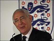 David Triesman, presidente de la Asociación de Fútbol de Inglaterra