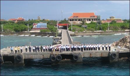 Đảo Trường Sa -ảnh của Phạm Xuân Nguyên