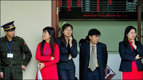 Thị trường chứng khoán Hà Nội