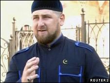 Рамзан Кадыров в Центорое
