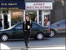 استخدام در ارتش آمریکا
