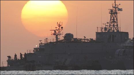 Tàu chiến Mỹ-Hàn tham gia tập trận