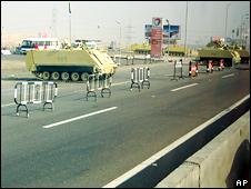 Pemblokiran jalan ke Kairo