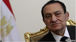 Presiden Mesir Husni Mubarak