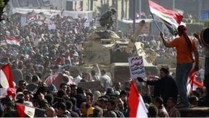 Demo terbesar di Kairo