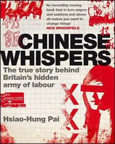 "Portada del libro ""Chinese whispers"""