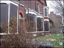 Alojamiento de indocumentados chinos en Liverpool