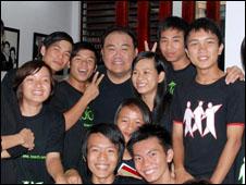 Jimmy Phạm và trẻ em đường phố, học viên của cơ sở Koto