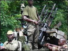 Forças oposicionistas na Costa do Marfim/AFP