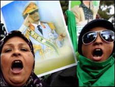 Người ủng hộ Gaddafi