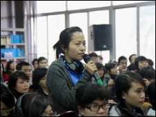 Sinh viên Học viện Báo chí