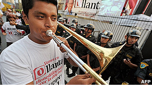 Simpatizante de Humala