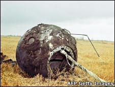 Cápsula de Yuri Gagarin (AFP Getty Images)