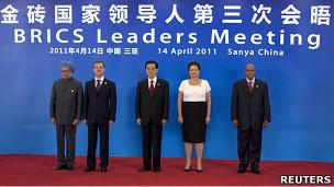 Reunião de cúpula dos BRICS em abril, na China