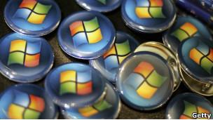 Muchos logos de Windows.