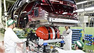 Auto Honda de hidrógeno