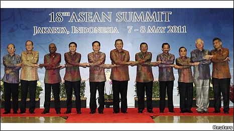 Các nhà lãnh đạo ASEAN tại Jakarta