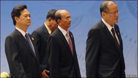 Lãnh đạo Asean tại hội nghị thượng đỉnh Jakarta
