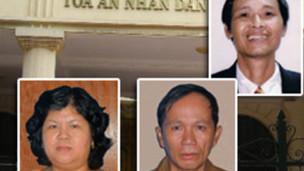 Các Đảng viên Việt Tân bị xét xử ở Bến Tre