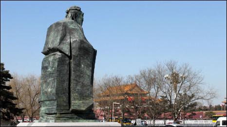 Tượng Khổng Tử ở Bắc Kinh
