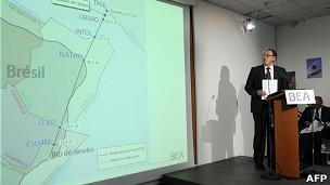 Investigador de la BEA, Alain Bouillard