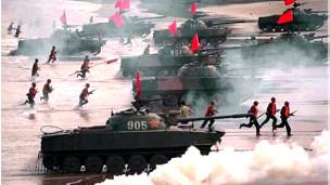 Một cuộc tập trận của Giải phóng quân Trung Quốc (ảnh chỉ có tính minh họa)