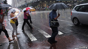 lluvias asociadas a Irene en Nueva York