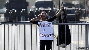 Estudiante chilena