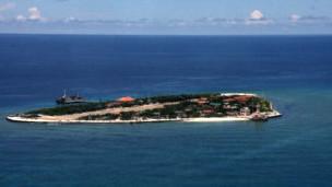 Đảo Trường Sa Lớn (ảnh của báo Thanh Niên)