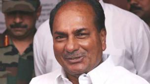 Bộ trưởng Quốc phòng Ấn Độ AK Antony