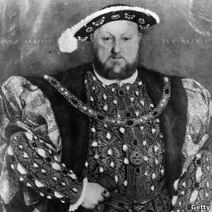 Rei Henrique 8º (arquivo/Getty)