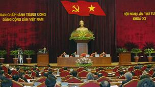 Phiên khai mạc hội nghị trung ương 4
