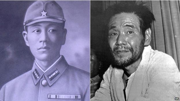 El soldado japonés Shoichi Yokoi, en 1941 y 1972