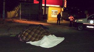 Violencia en las calles de Michoacán