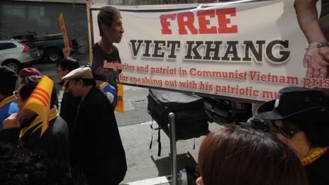 Vận động trả tự do cho ông Việt Khang ở hải ngoại