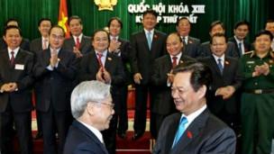 Lãnh đạo đảng, nhà nước Việt Nam