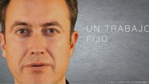 Imagem de vídeo de recrutamento da Conferência Episcopal Espanhola