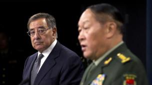 Bộ trưởng Quốc phòng Mỹ Leon Panetta gặp người đồng cấp Trung Quốc Trương Quang Liệt