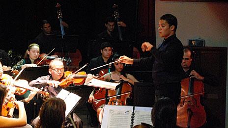 José Ángel Salazar, director de orquesta. Foto: cortesía José Ángel Salazar