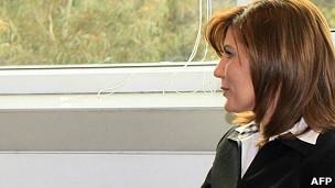 Nhà ngoại giao Syria đào tẩu Lamia al-Hariri
