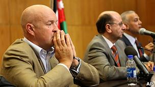 Reunión de Naciones Unidas y representante de Jordania
