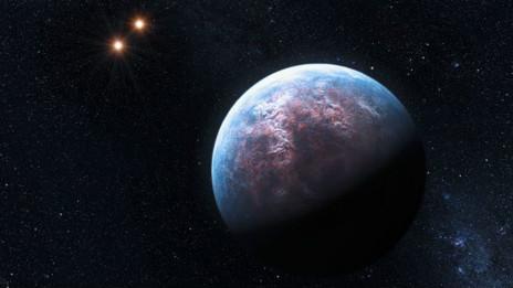 تصویر ساختگی از سیاره
