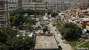Barrio 23 de enero en Caracas