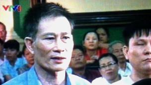 Ông Nguyễn Văn Hải trong phiên sơ thẩm