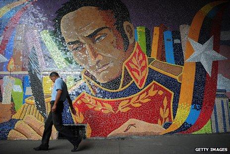 Mural de Simón Bolivar