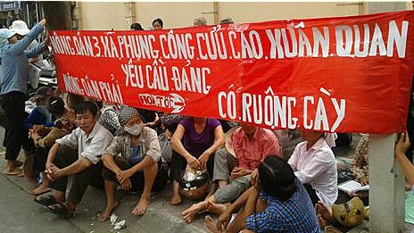 Người dân Văn Giang ở Hà Nội