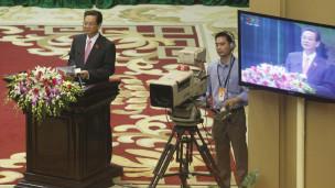 Thủ tướng Nguyễn Tấn Dũng phát biểu